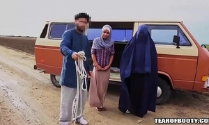 Arab man sells his own lady
