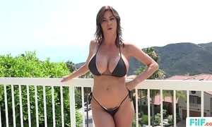 Stepmom alexis fawx uses stepson to fulfill the brush prurient needs