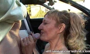 Public deepthroat milf bonie does 2 dudes in woodland unskilful reality