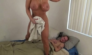 Sexy mommy on the back burner son - alura jenson
