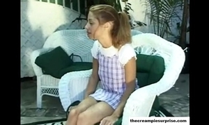 Creampie take aback clips insufficiency more check thecreampiesurprise.com