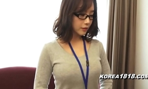 Korea1818.com - hot korean girl crippling glasses