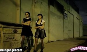 Wednesday addams assfucked 3-some