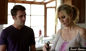 Busty milf screwed acutely by stepson