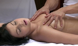 Orgasms incomparable juvenile dame has the brush sexy circle massaged and satisfied hard by sexy mendicant