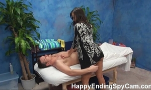 Horny rub-down cooky seduces consumer