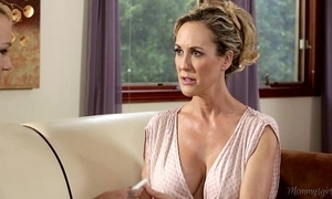 Busty step-mother brandi love with an increment of carmen callaway