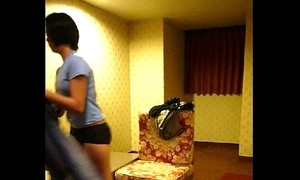 Homemade vid -- cute filipina maid lily disrobes for feign