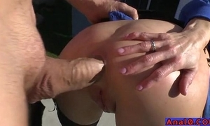 Mature anal licking, fisting, gaping increased by gender