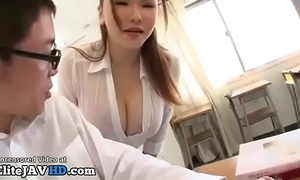 Japanese milf instructor titsfuck there unwitting student - full at one's disposal elitejavhd.com