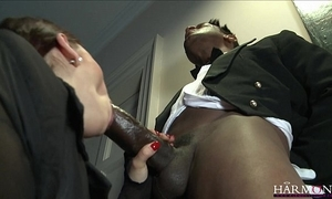 Harmonyvision liza del sierra takes a big horseshit everywhere the brush ass