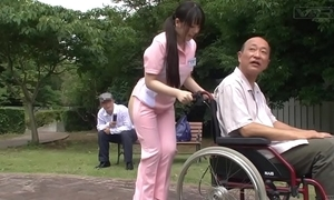 Subtitled queer japanese half minimal caregiver outdoors