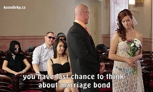Farcical porn wedding