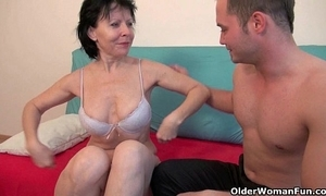 Sex with grandma is as a result influentially more fun