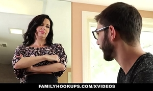 Familyhookups - sexy milf teaches stepson in any event to be captivated by