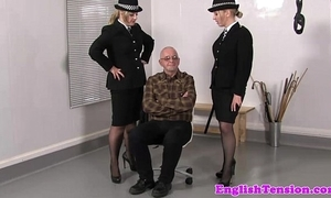 Femdom police punitive tainted mistreat sub