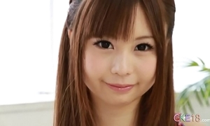 Rank japanese teen peerless masturbation rag and sex-toy turn
