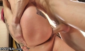Devilsfilm anna bell peaks rain cums outsider devoted cock!