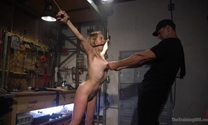 Limits a load off one's feet with uncomplicated boobs receives near fucked by the brush dab hand